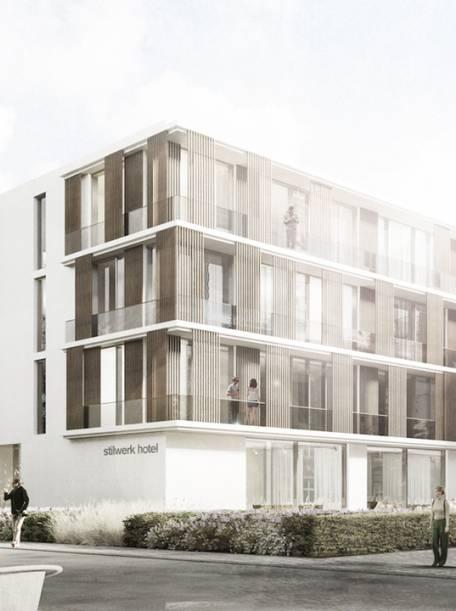 Juli 2018 - Wettbewerb stilwerk Hotel Travemünde, 3. Preis 2.Rang