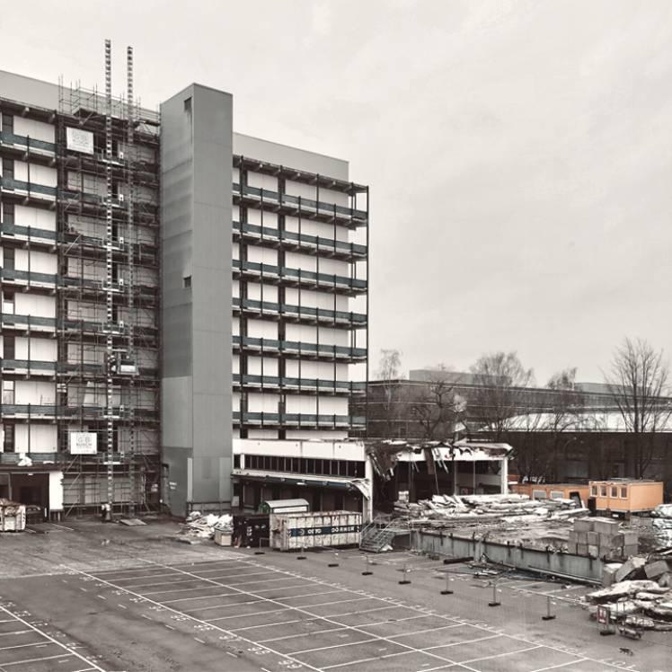 Februar 2019 - Baubeginn OTTO GOeast, Gebäude 4