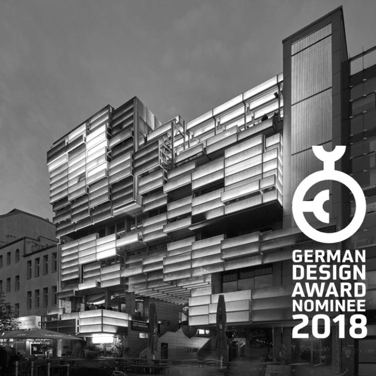 Juli 2017 - German Design Award Nominee 2018
