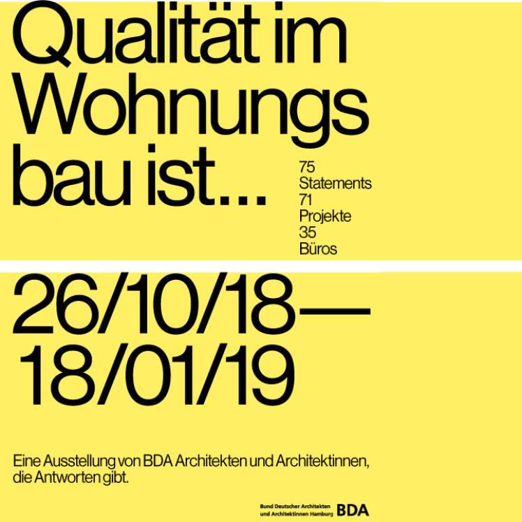 Oktober 2018 - BDA Ausstellung