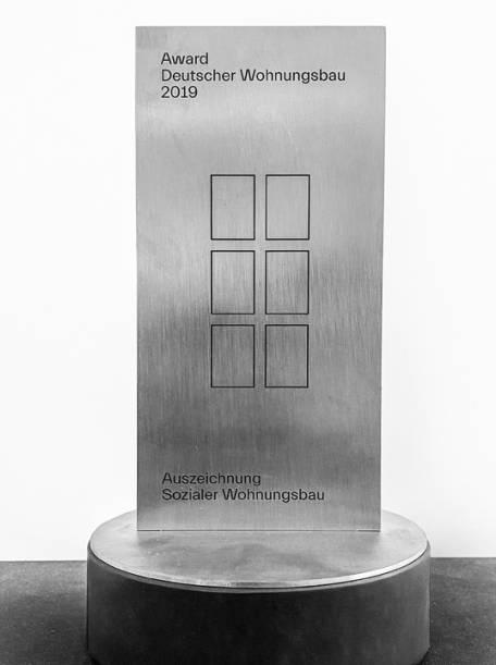 Oktober 2019 -  Award Deutscher Wohnungsbau
