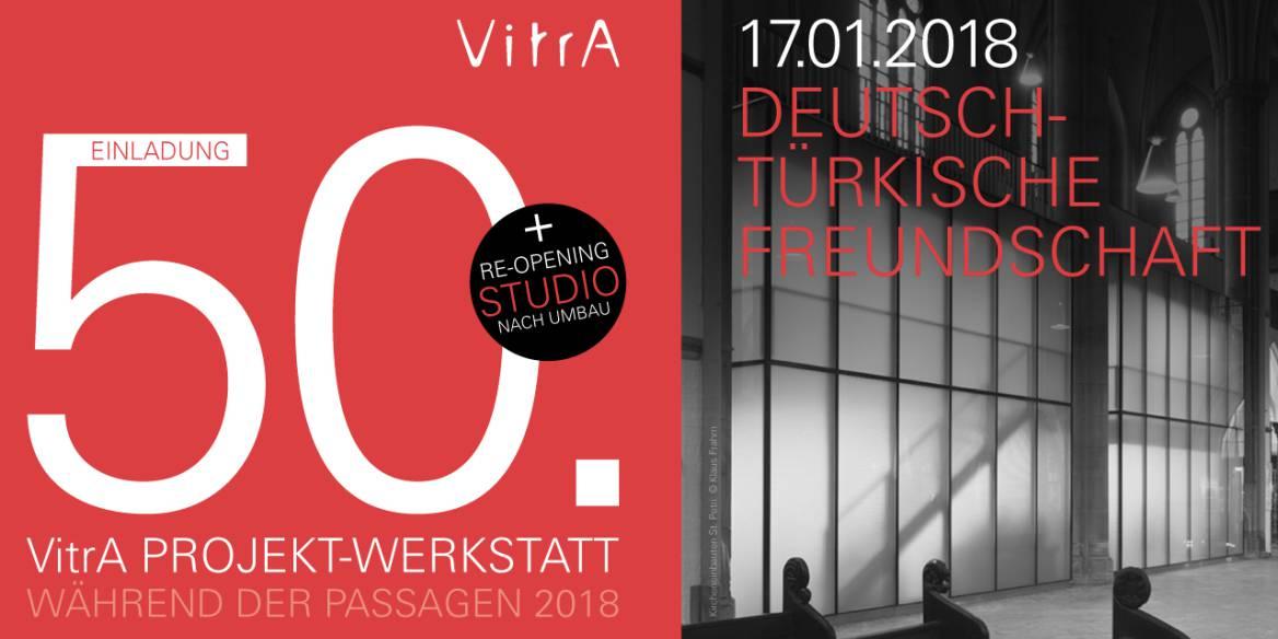 Januar 2018 - 50. VitrA Projekt-Werkstatt mit akyol kamps : bbp