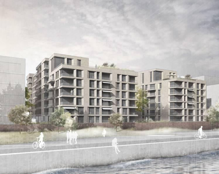 September 2017 - Grün für 97 - Baufeld 97 HafenCity, 2. Preis