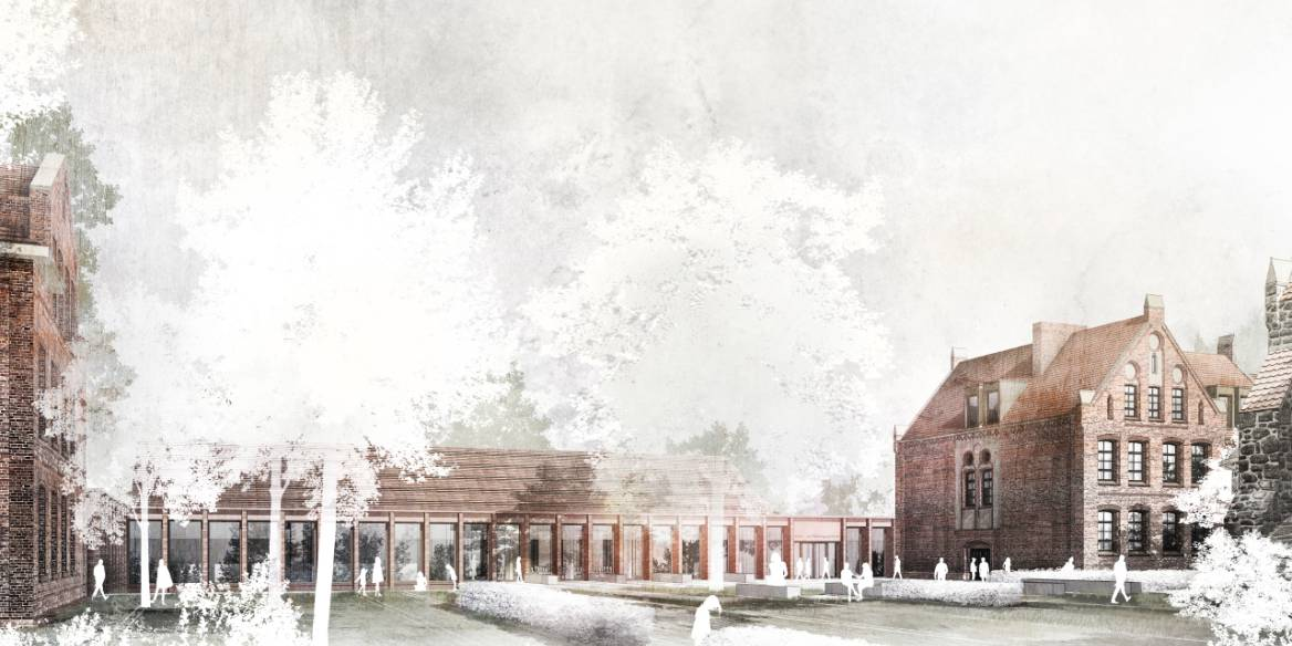 Wettbewerbsbeitrag - Kultur - und Bildungszentrum Zeven
