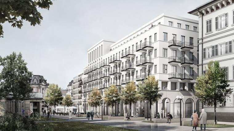 Kurpark Bad Kissingen - Fassadenwettbewerb, 3. Preis