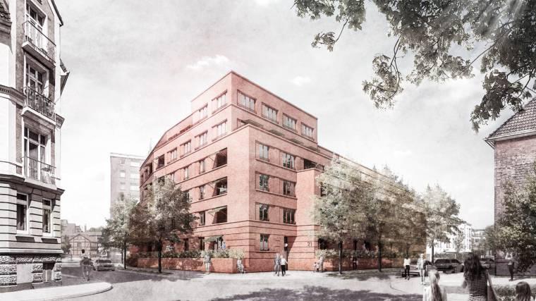 Wettbewerbsbeitrag Bergedorf, Rektor-Ritter-Straße